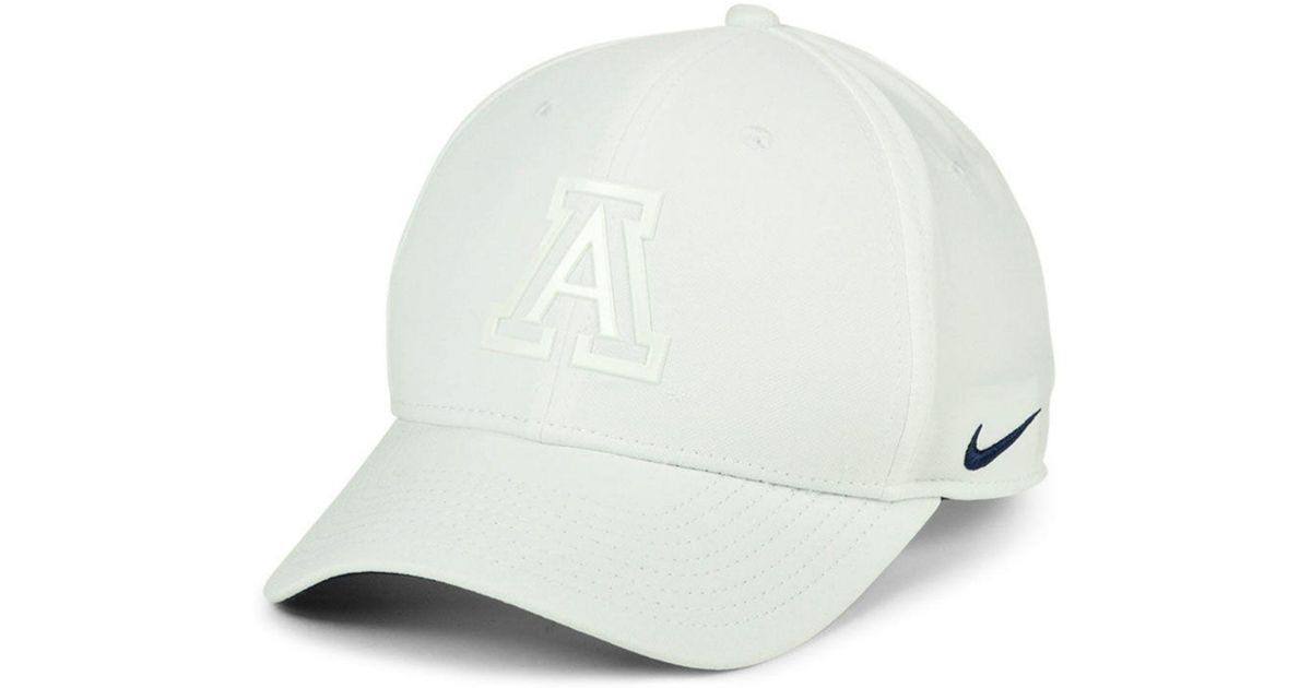 4bfcb2bfe ... official discount code for lyst nike arizona wildcats col cap in white  for men e4c96 b1f25