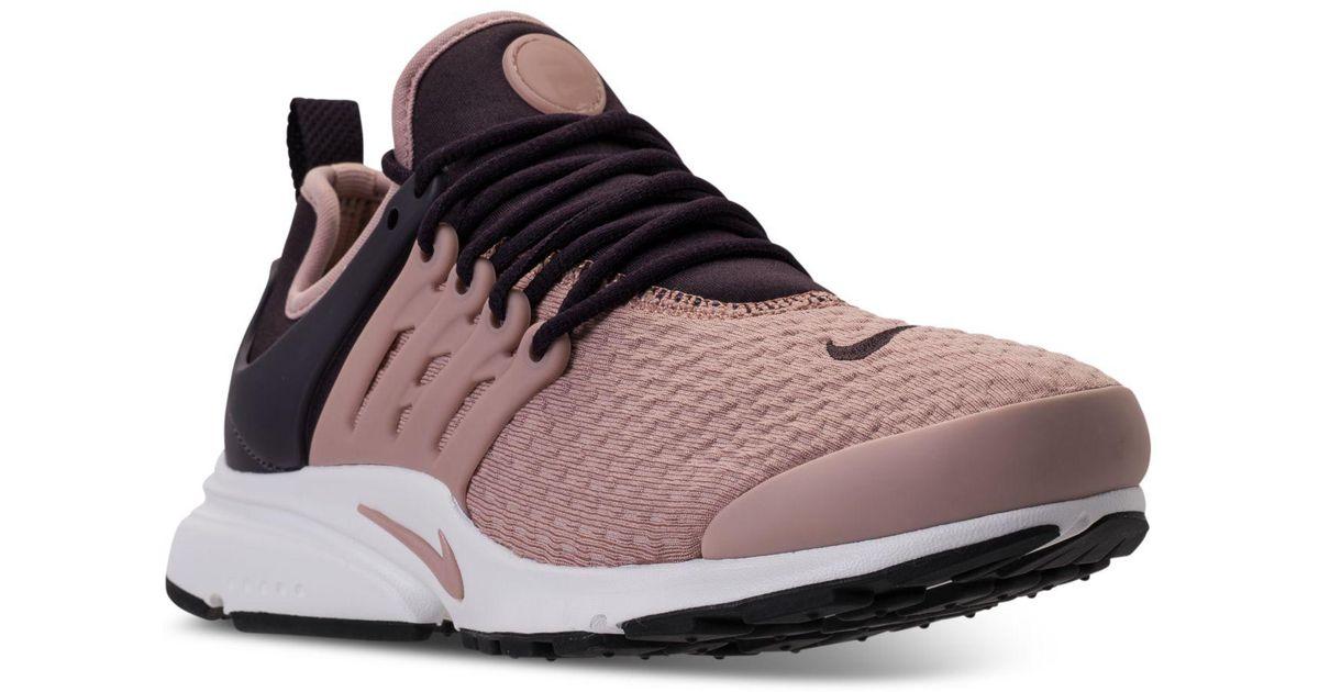 f2d60de9b717 Lyst - Nike Women s Air Presto Running Sneakers From Finish Line
