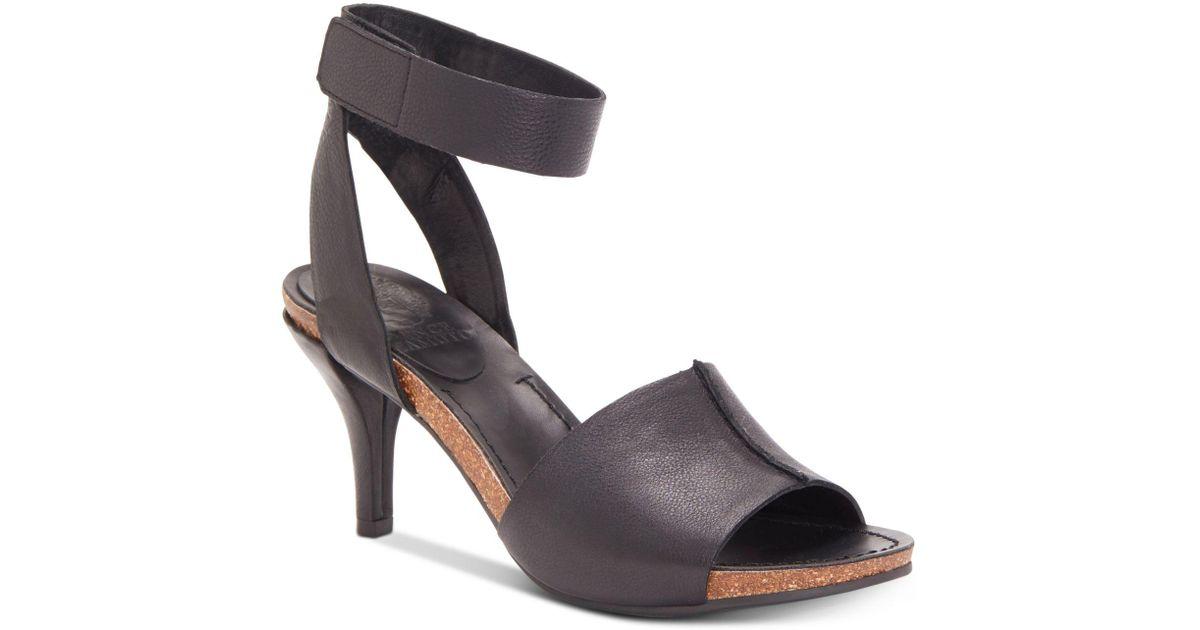 8dd5142626b Lyst - Vince Camuto Odela – Two-strap Sandal in Black