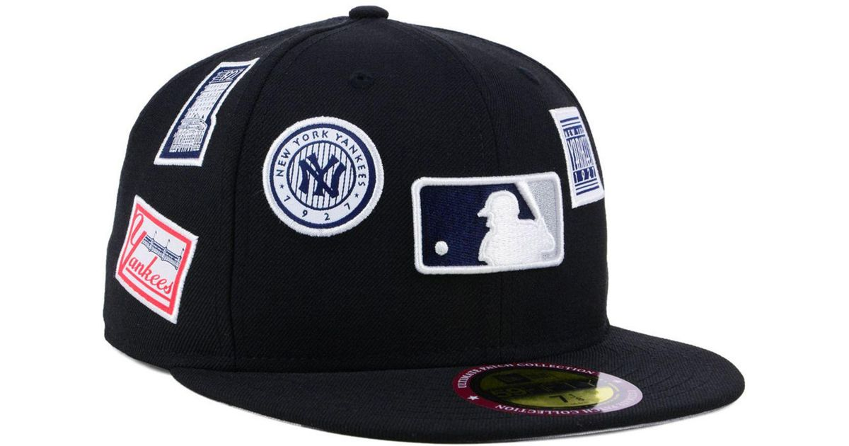 the best attitude f0f31 38867 KTZ New York Yankees Ultimate Patch Collection All Patches 59fifty Cap in  Black for Men - Lyst