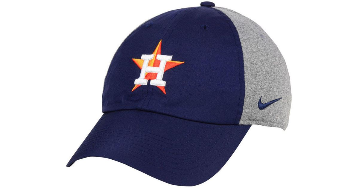 70c4f15c ... hot lyst nike houston astros new day legend cap in blue for men 207d6  997bf