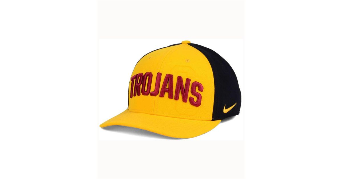 a3f4b71a Lyst - Nike Usc Trojans Classic 99 Swoosh Flex Cap in Yellow for Men