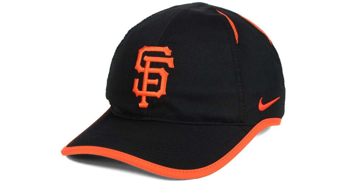 d9f95c01eb2804 Lyst - Nike San Francisco Giants Dri-fit Featherlight Adjustable Cap in  Black for Men