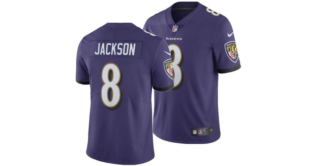 info for a841c 3e6ef Nike Lamar Jackson Baltimore Ravens Game Jersey in Purple for Men - Save  33% - Lyst