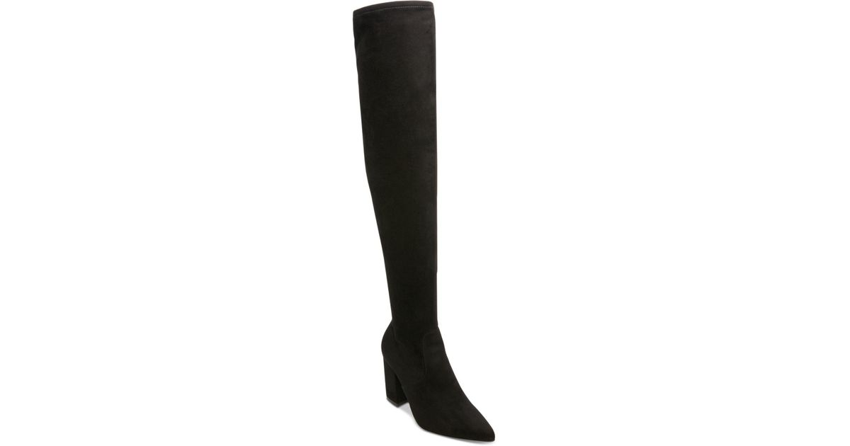 4d54d781f1f Lyst - Steve Madden Rational Over-the-knee Boots in Black