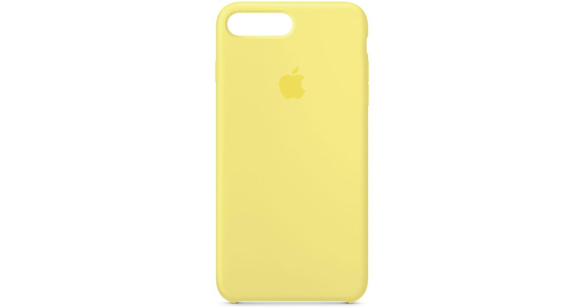 439d419d42 Apple Iphone 8 Plus/7 Plus Silicone Case in Yellow - Lyst
