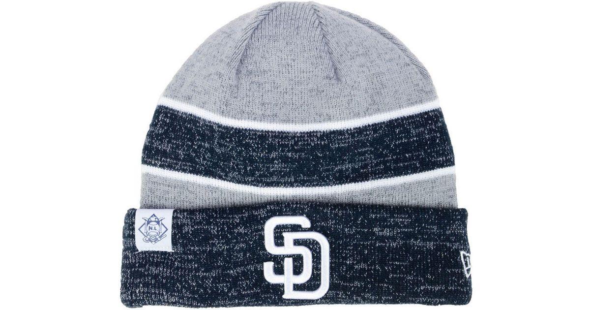 Lyst - Ktz On Field Sport Knit Hat in Blue for Men d56a18c37
