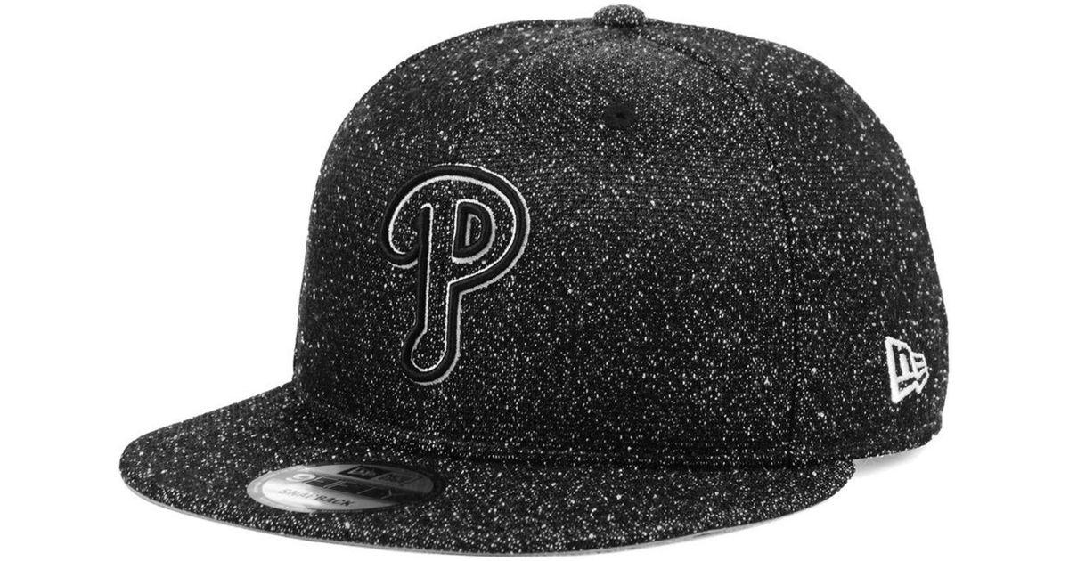 b87e010130d Lyst - KTZ Philadelphia Phillies Spec 9fifty Snapback Cap in Black for Men