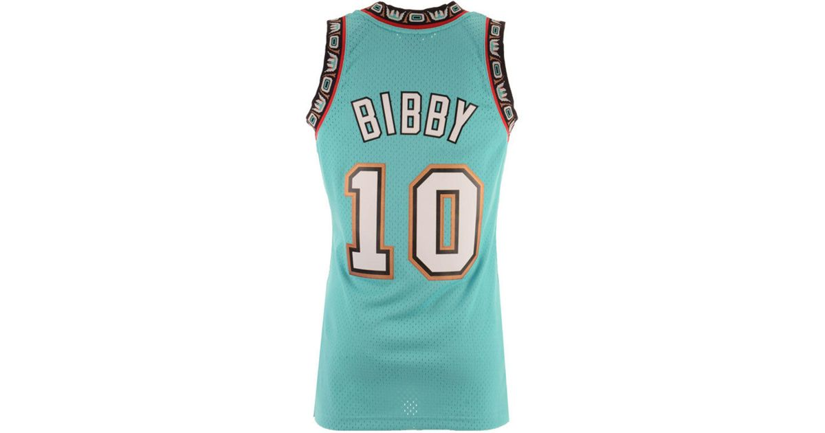 40c57ad1c Lyst - Mitchell   Ness Mike Bibby Vancouver Grizzlies Hardwood Classic  Swingman Jersey for Men