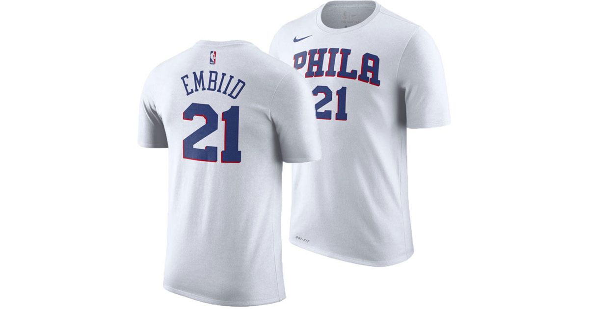 feacc2478 where to buy joel embiid t shirt jersey 04927 f3da8