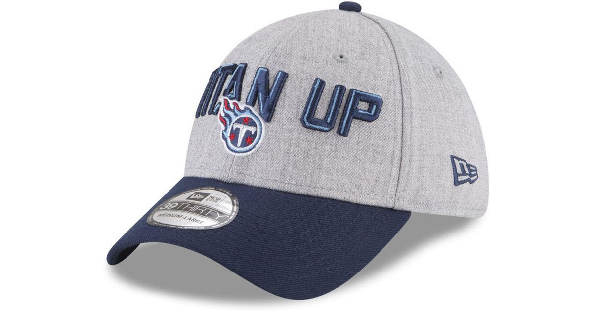size 40 c6bce 1d876 Lyst - KTZ Tennessee Titans Draft 39thirty Cap in Blue for Men