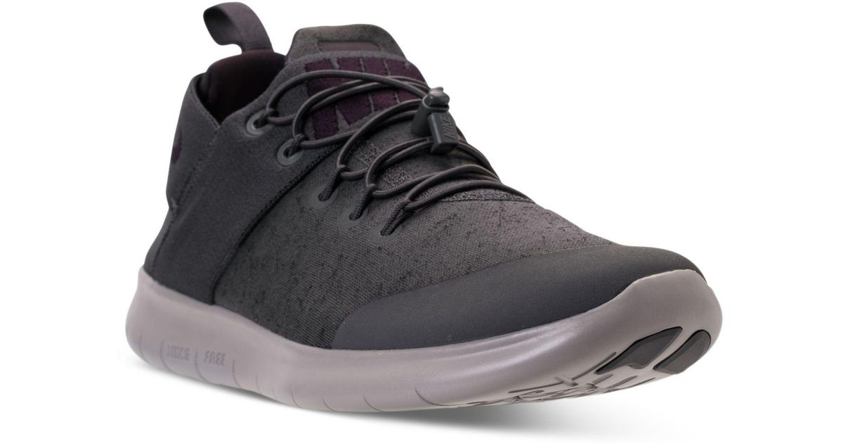 2609ee7fe8f41 Lyst - Nike Men s Free Rn Commuter Premium 2017 Running Sneakers From  Finish Line in Black for Men