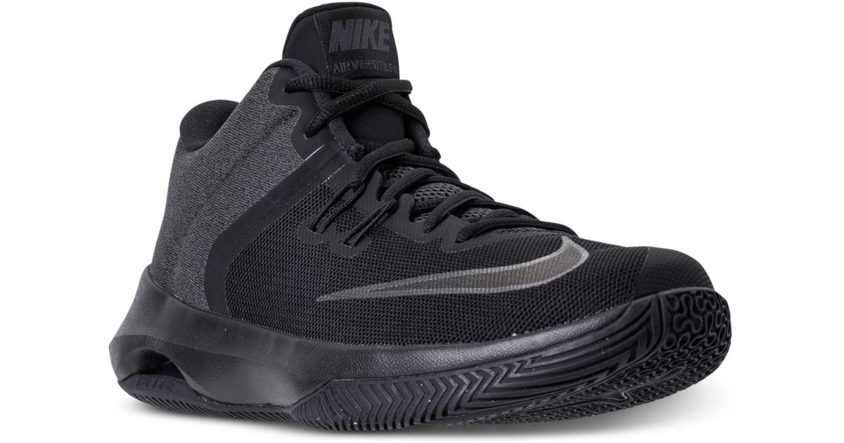 039fea44119d Lyst - Nike Men s Air Versitile Ii Nbk Basketball Sneakers From Finish Line  in Black for Men