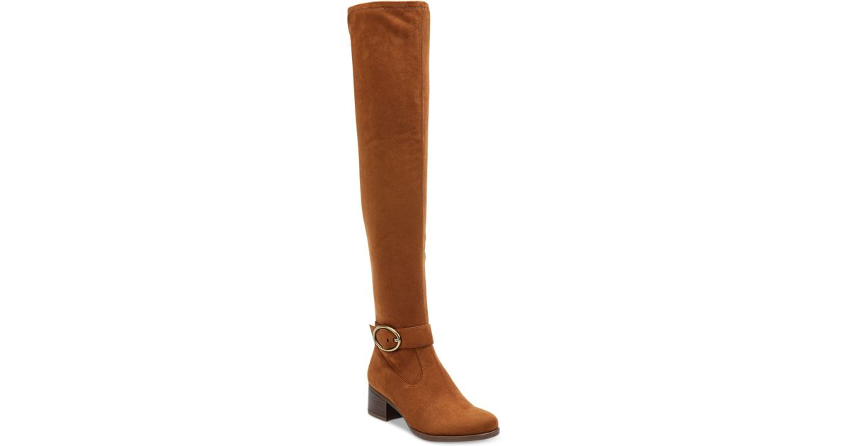 f492e8746e5 Lyst - Naturalizer Dalyn Over-the-knee Boots in Brown