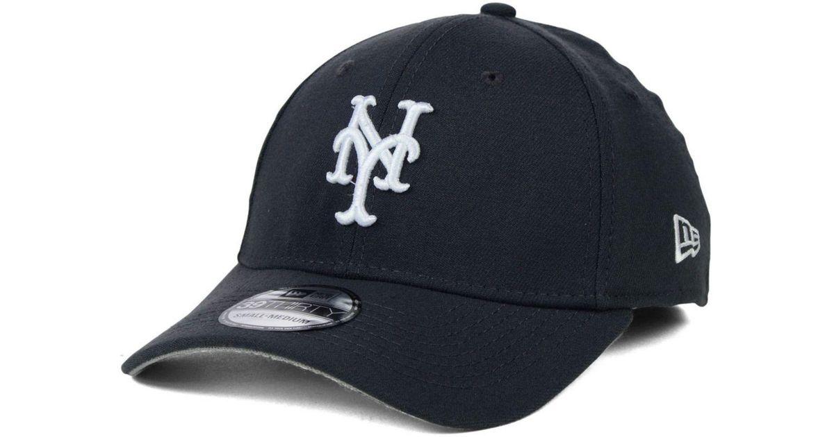 san francisco f6d33 d2174 Lyst - Ktz New York Mets Fashion 39thirty Cap in Gray for Men