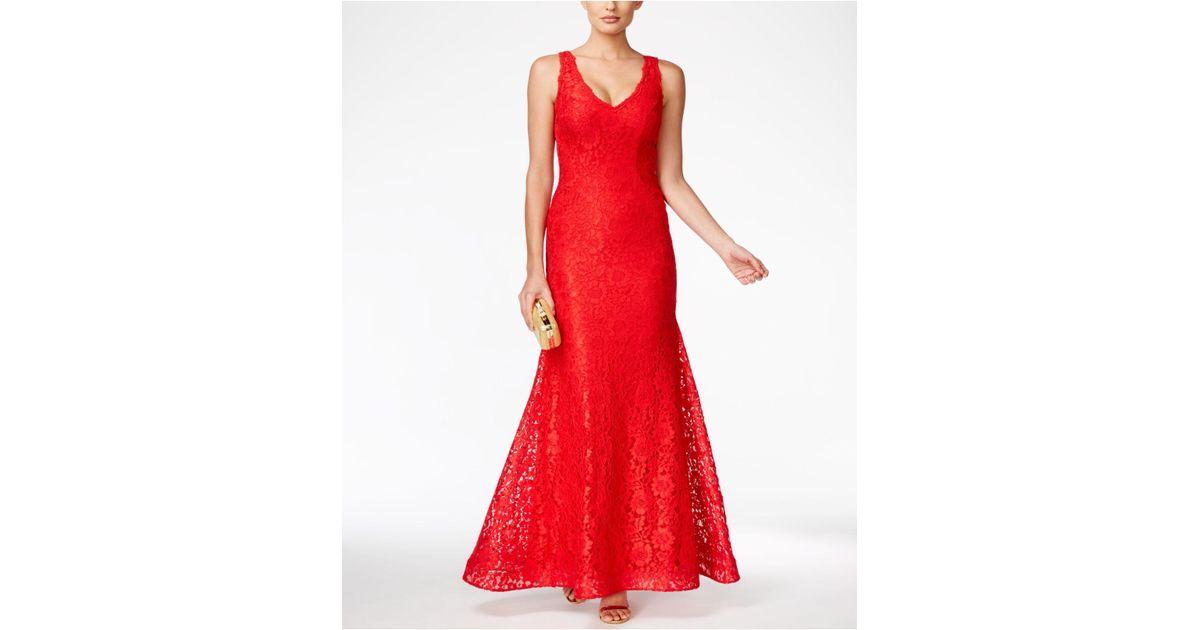 Xscape Long Dress Red – Fashion dresses