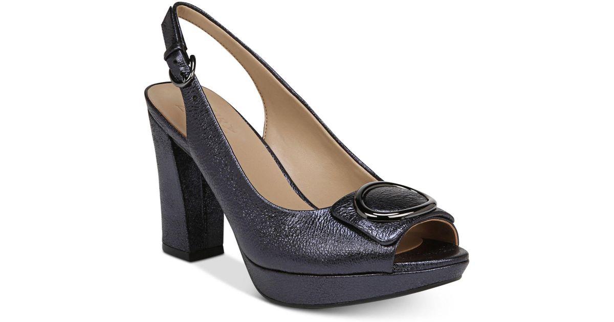 Naturalizer Abby Peep-Toe Dress Sandals Women's Shoes tFKJYXoXF