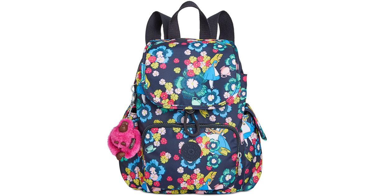 5ab97f72fa9 Lyst - Kipling Disney s® Alice In Wonderland City Pack Extra Small Backpack  in Blue