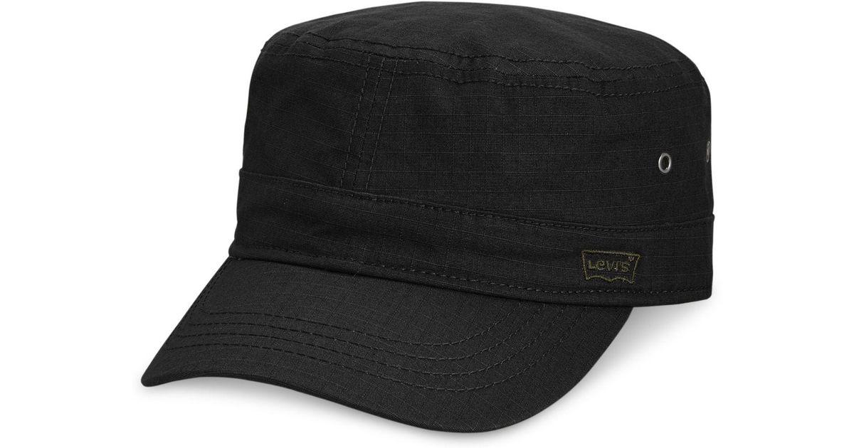 804db850192 Lyst - Levi s Men s Ripstop Cadet Hat in Black for Men