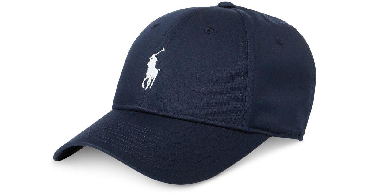 Lyst - Polo Ralph Lauren Baseline Performance Cap in Blue for Men - Save 55% fe3ad8e92217