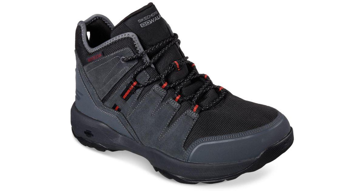 best website c09f4 9309c Lyst - Skechers Men s Go Walk Outdoor 2 Casual Sneakers From Finish Line in  Black for Men