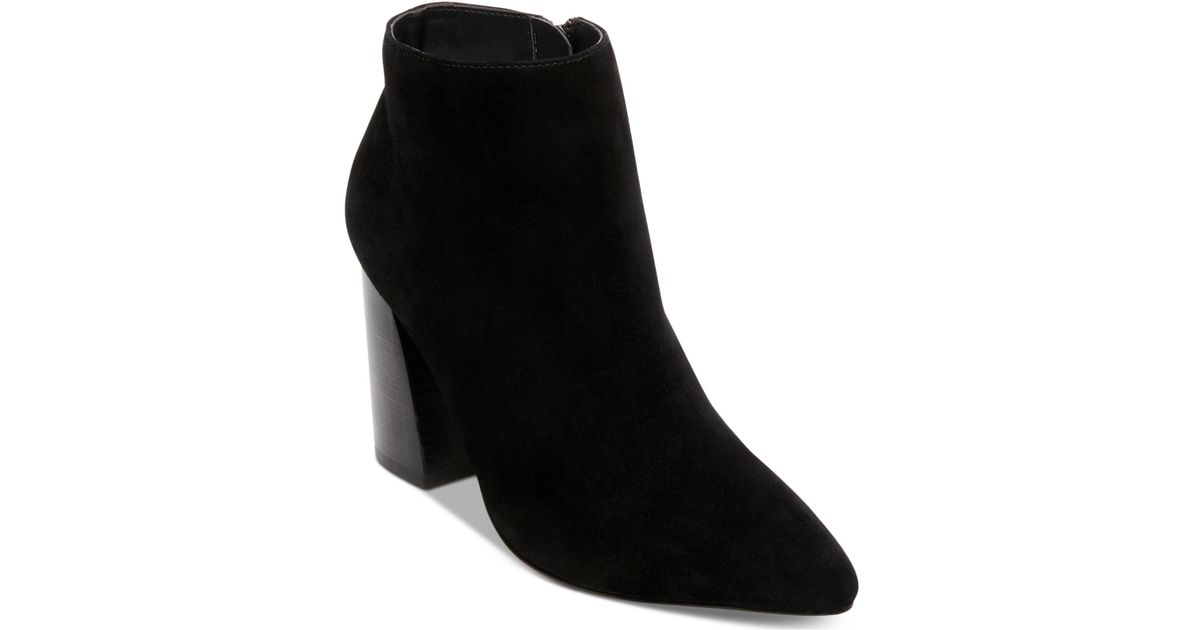 bdc765294ad Lyst - Steve Madden Simmer Bootie in Black - Save 27%