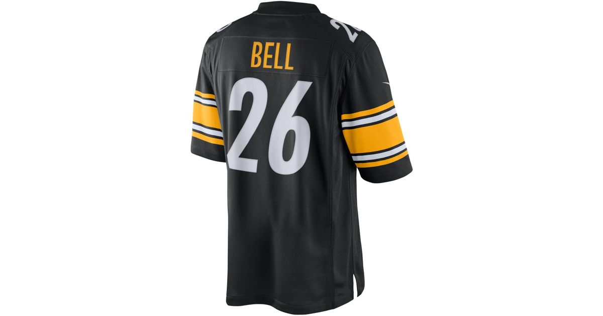2746e7c68 Lyst - Nike Men s Leveon Bell Pittsburgh Steelers Limited Jersey in Black  for Men