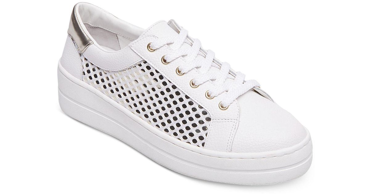 0924bcef7dd Lyst - Steven by Steve Madden Women s Nyssa Shoes in White