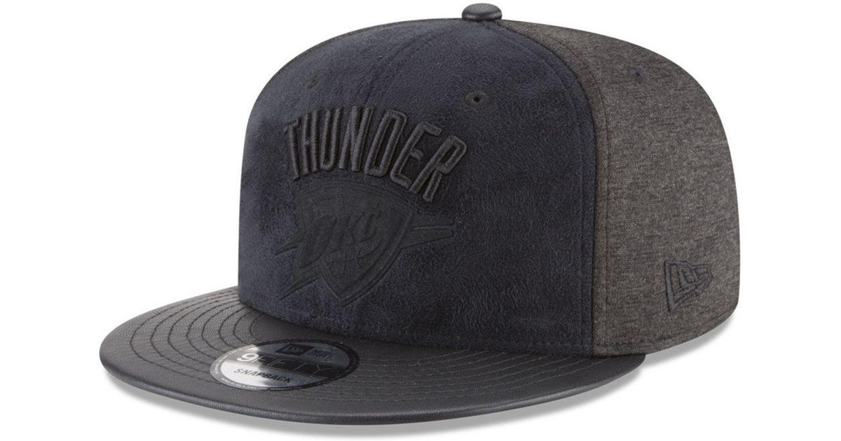 competitive price dd6da 723bc Lyst - KTZ Oklahoma City Thunder Paul George Collection 9fifty Snapback Cap  in Black for Men