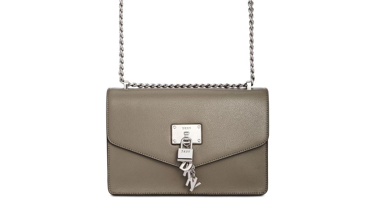 82ed96a234 Lyst - DKNY Elissa Chain Strap Shoulder Bag