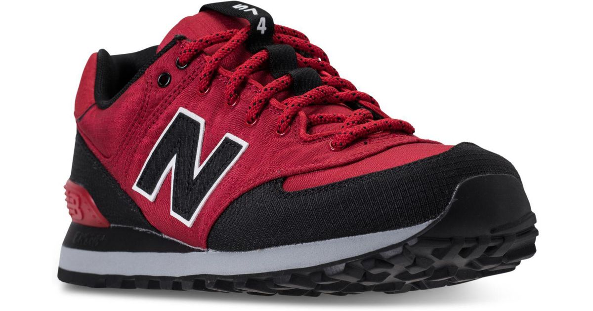 newest 7ecf4 c5596 ... Lyst - New Balance Men s 574 Outdoor Escape Casual Sneakers From Finish  Line in Red ...