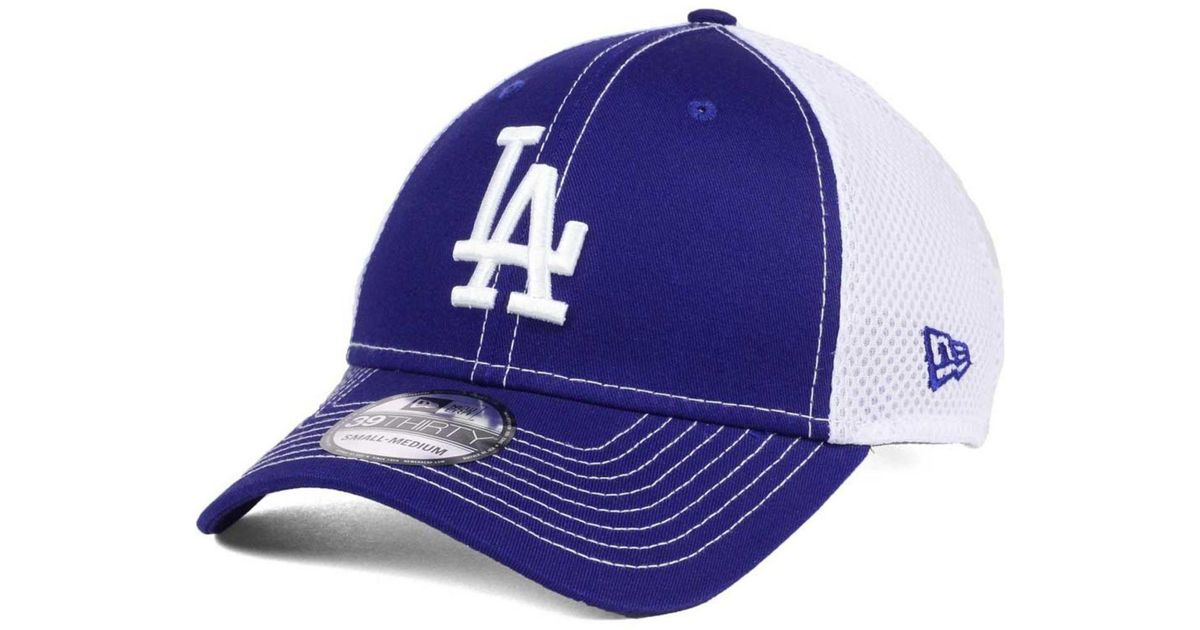 a401391ade4 Lyst - KTZ Team Front Neo 39thirty Cap in Blue for Men