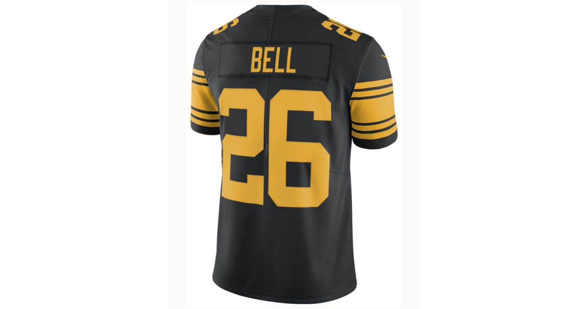 5a7dd28eb83 Nike Le veon Bell Pittsburgh Steelers Limited Color Rush Jersey in Black  for Men - Lyst