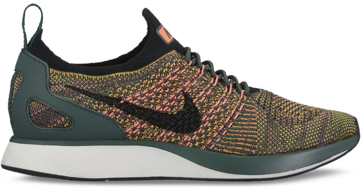 899b175c74932 Lyst - Nike Women s Air Zoom Mariah Flyknit Racer Casual Sneakers From  Finish Line in Black