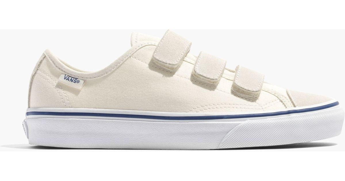 bf0abe9a82693 Lyst - Madewell Vans® Unisex Canvas 23v Velcro® Sneakers in White for Men