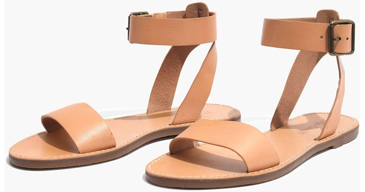 4ef0762a5b83 Lyst - Madewell Pre-order The Boardwalk Ankle-strap Sandal