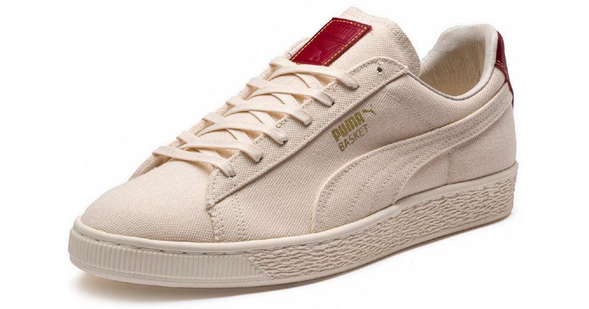 Lyst - PUMA White red Men s Basket Mij  yachtlife in White for Men 706a2e8be78c