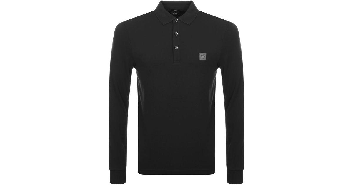 BOSS by Hugo Boss Passerby Polo T Shirt Black for men