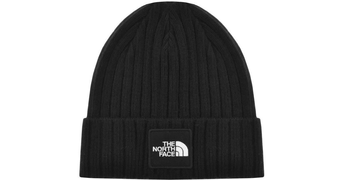Lyst - The North Face Classic Cuffed Beanie Hat Black in Black for Men 3e794206216