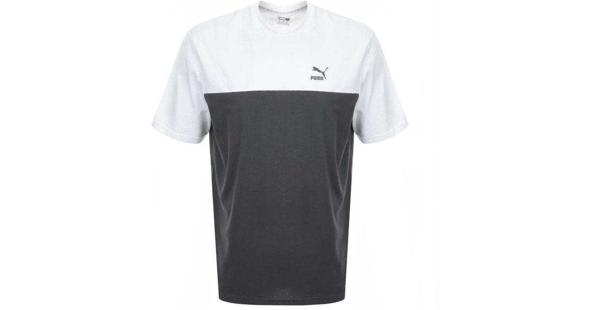 brand new ddaf5 12d17 PUMA - Gray Retro T Shirt In Grey for Men - Lyst