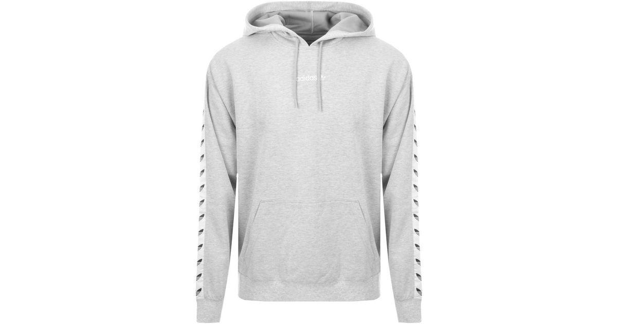 4cef9fef13a4 adidas Originals Tnt Tape Hoodie Grey in Gray for Men - Lyst
