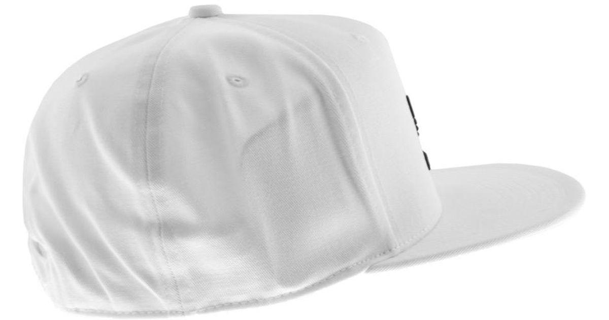 7e41fa0fb39 adidas Originals Trefoil Cap White in White for Men - Lyst