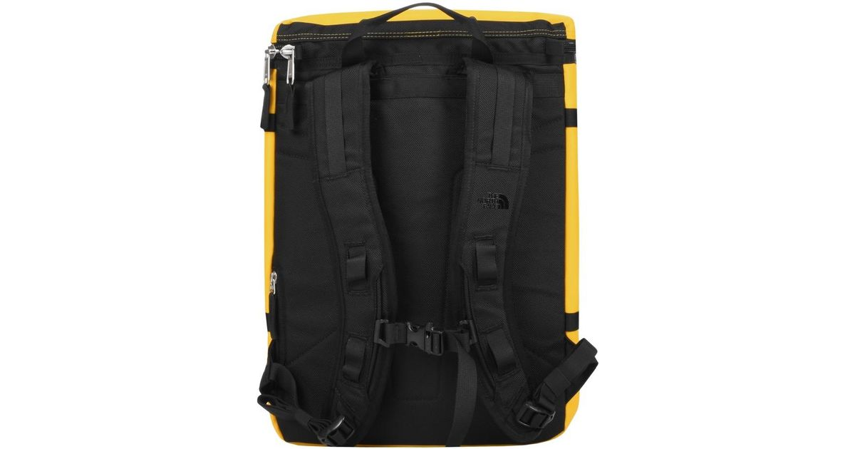 The North Face Base Camp Fuse Box Backpack Yellow for Men - Lyst on camp tools, camp furniture, camp accessories, camp tents, camp lanterns, camp bags, camp boxes, camp patches, camp bracelets, camp games,