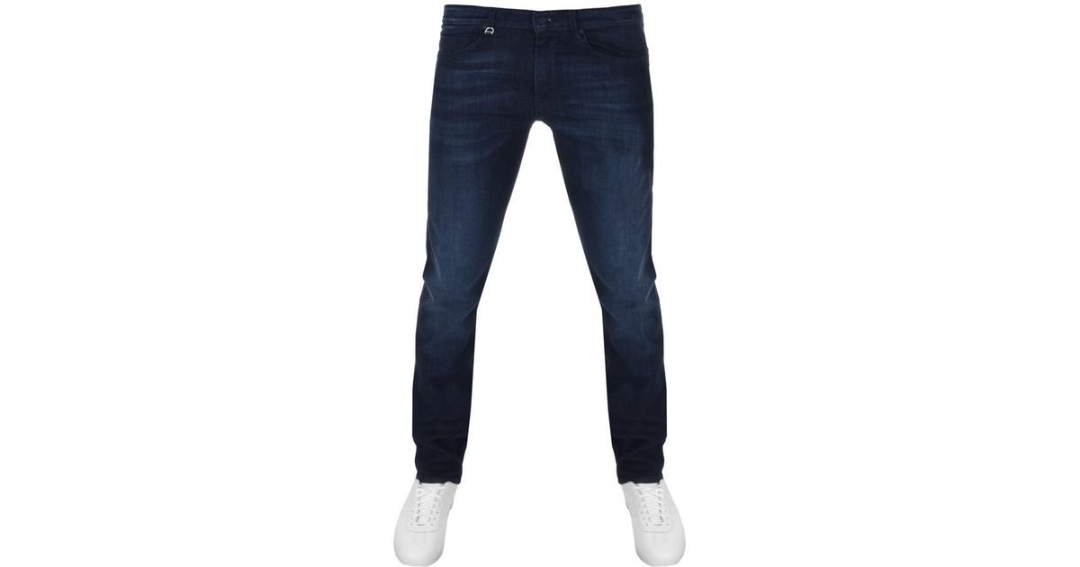 a339829b26c BOSS Athleisure Boss Green Drake 2 Slim Fit Jeans Navy in Blue for Men -  Lyst