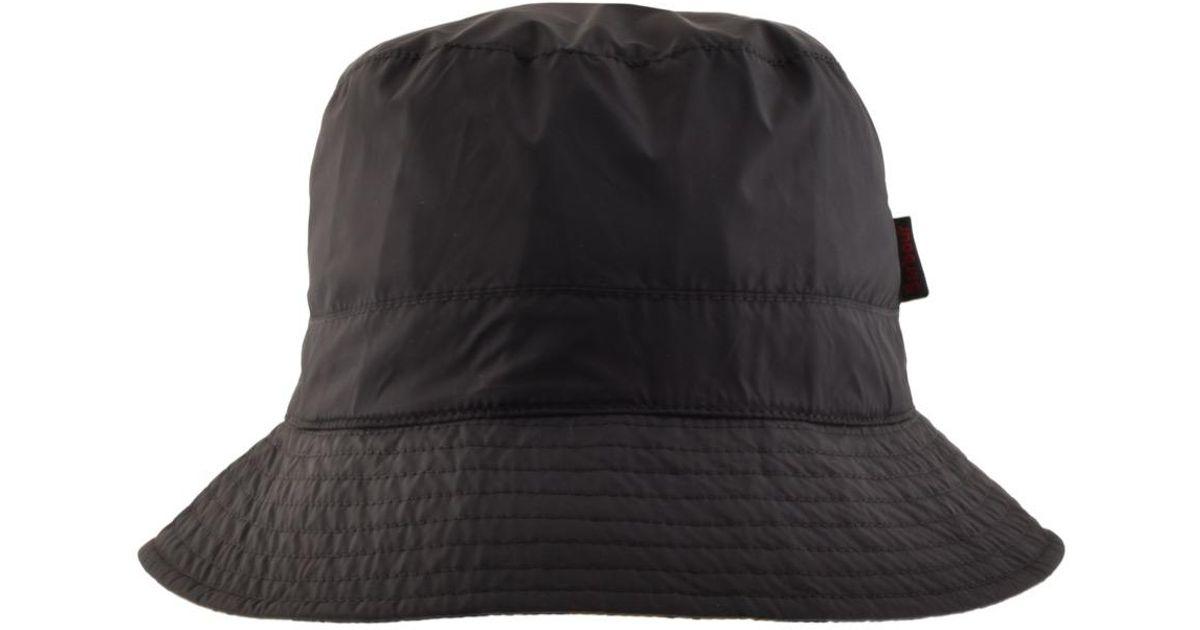 c63f8341b35 Lyst - Barbour Waterproof Reversible Bucket Hat Navy in Blue for Men