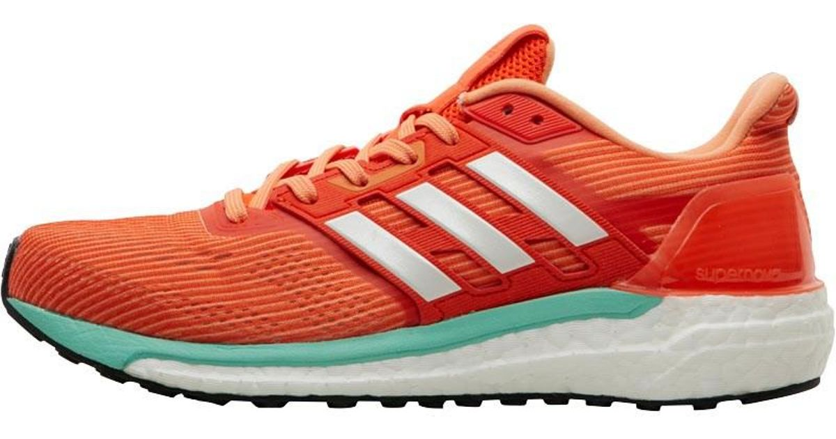 88cfa35dc71d9 ... new zealand adidas supernova glide boost 9 neutral running shoes energy  white easy orange in orange