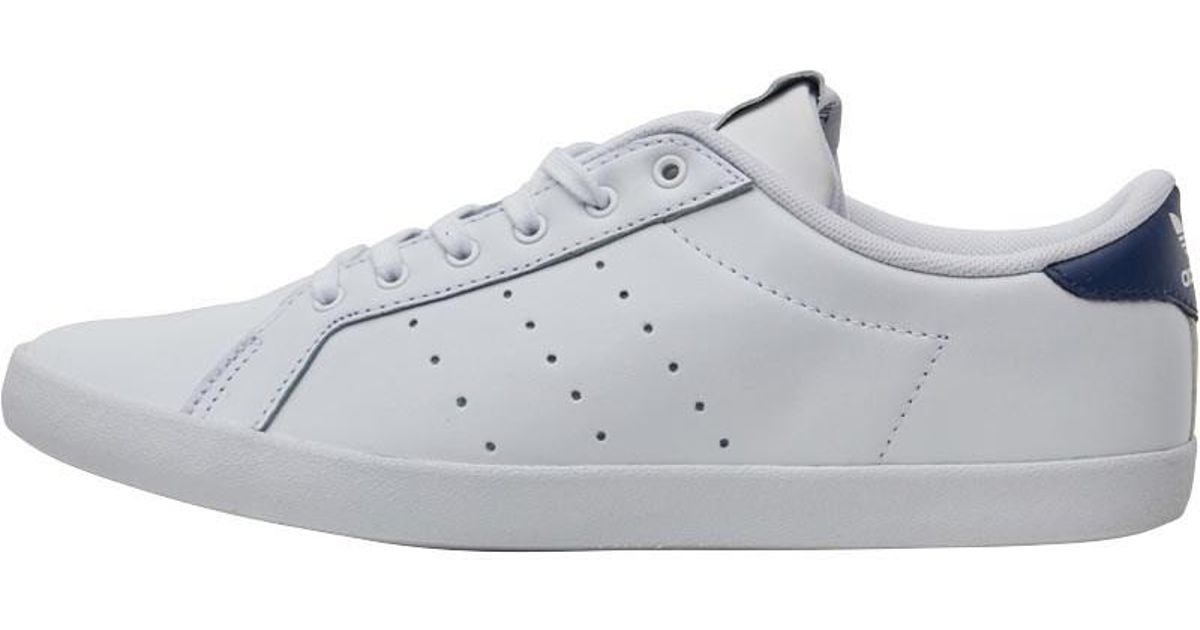 huge discount 68ce1 b7df4 adidas Originals Miss Stan Trainers Footwear Whitecollegiate Navy in White  - Lyst