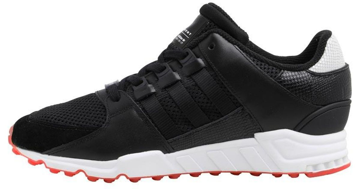 info for a4b33 32b1e adidas Originals Eqt Support Rf Trainers Core Black/core Black/turbo Pink  in Black - Lyst