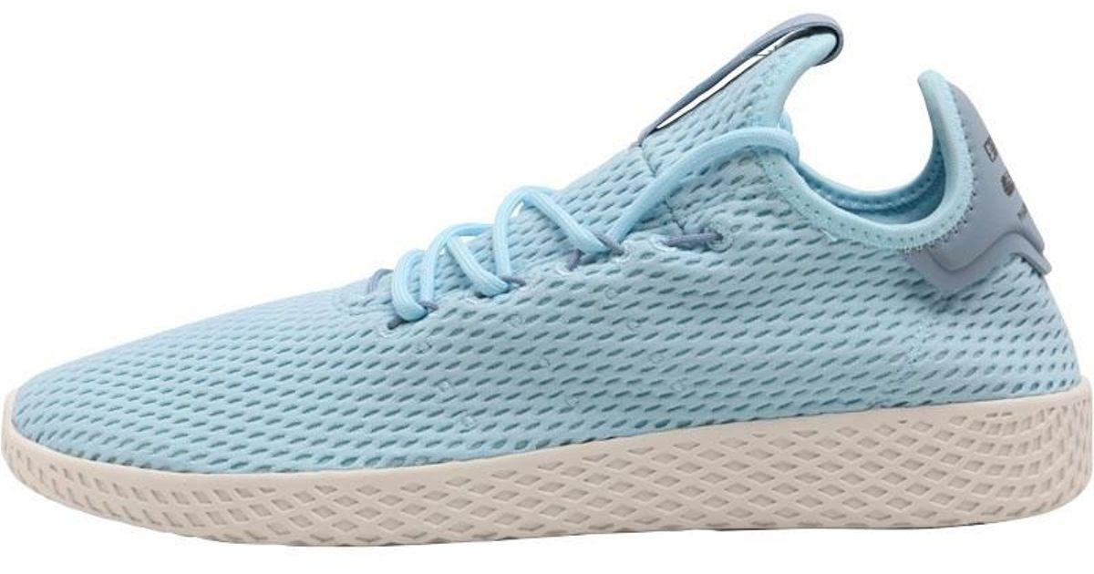 55dd74b22 adidas Originals X Pharrell Williams Tennis Hu Trainers Ice Blue ice Blue tactile  Blue in Blue for Men - Lyst