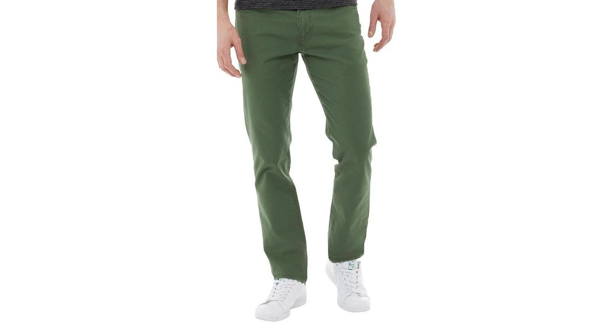 7ee4cab2 Levi's 511 Slim Fit Jeans Meadow Moss Bl Ctn in Green for Men - Lyst